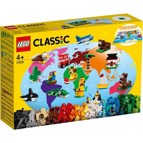 LEGO  Classic 11015 Einmal um die Welt
