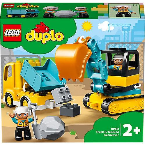 Lego Duplo Bagger und Laster V29