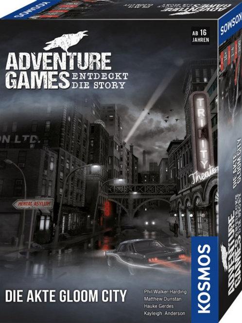 Kopie von Adventure Games - Die Akte Gloom City