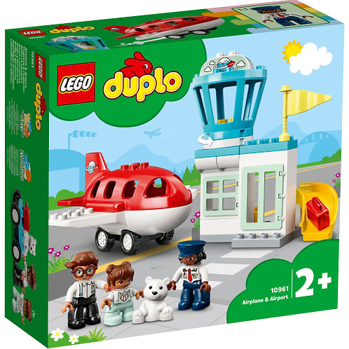 LEGO 10961 Flugzeug und Flughafen