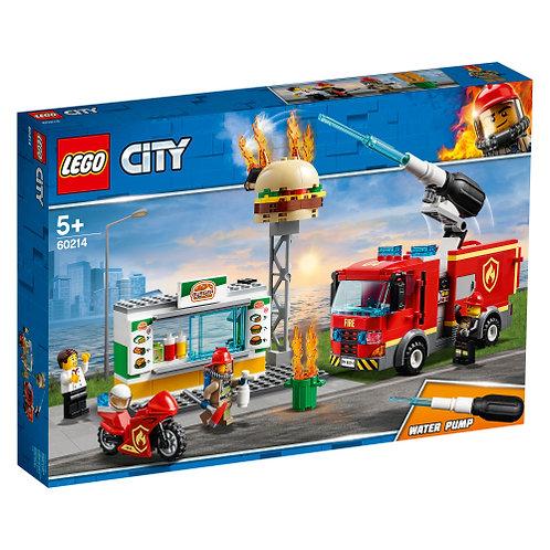 LEGO 60214 Feuerwehreinsatz im Burger-Restaurant