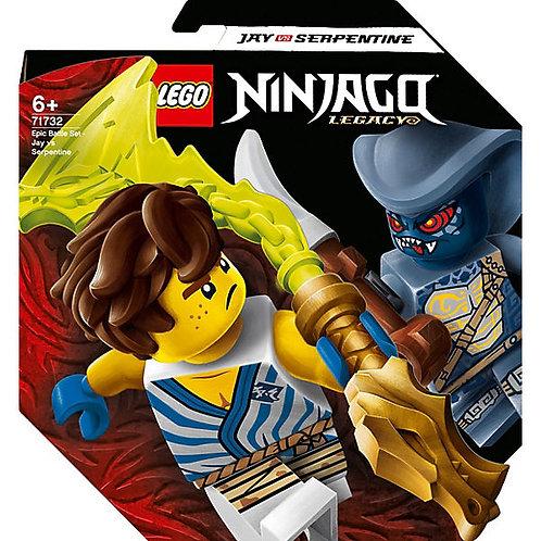 LEGO 71732 Battle Set: Jay vs. Serpentine V29