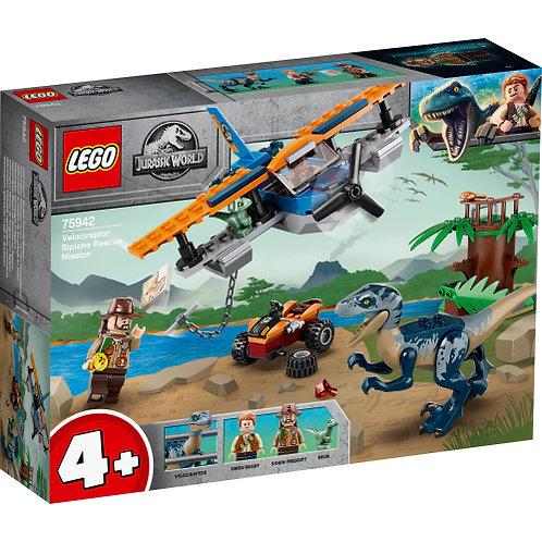 LEGO 75942 Velociraptor: Rettungsmission mit dem Doppeldecker