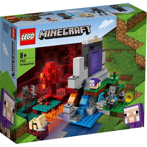 LEGO 21172 MINECRAFT Das zerstörte Portal