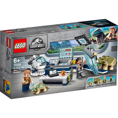 LEGO 75939 Dr. Wus Labor: Ausbruch der Baby-Dinosaurier