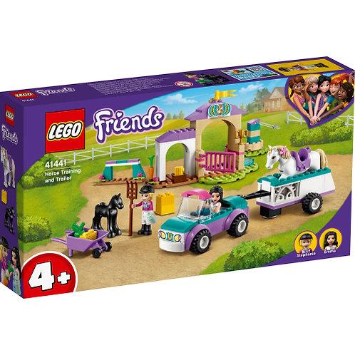 LEGO 41441 Trainingskoppel und Pferdeanhänger