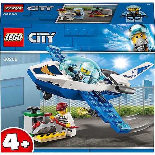 Lego City Polizei Flugzeugpatrouille