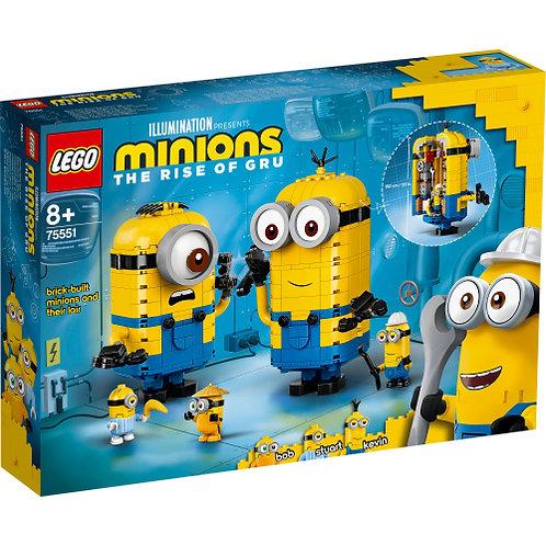 LEGO 75551 Minions-Figuren Bauset mit Versteck