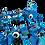 Thumbnail: Lego Classic 11006 Blaues Kreativ-Set