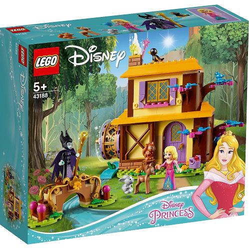 LEGO 43188 Auroras Hütte im Wald
