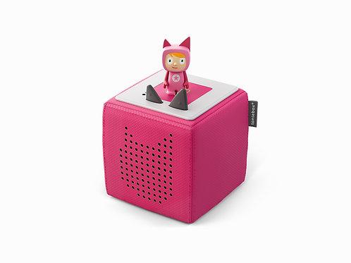 Tonieboxen Starterset Pink mit Kreativ-Tonie