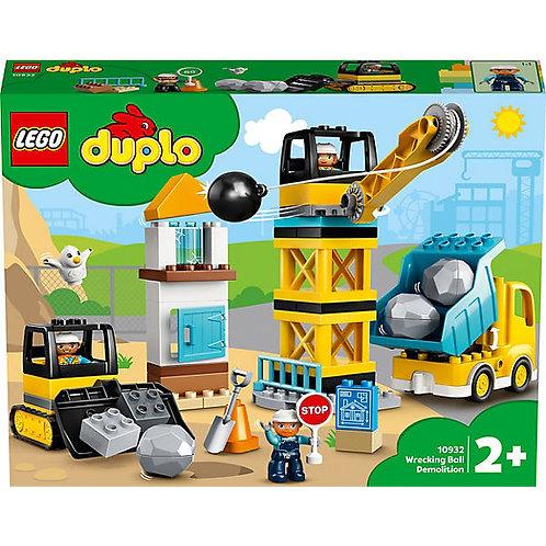 Lego Duplo Baustelle mit Abrissbirne