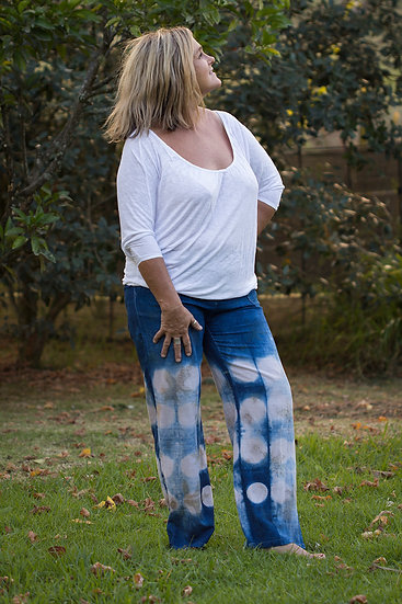 Bamboo cotton relaxed fit pants