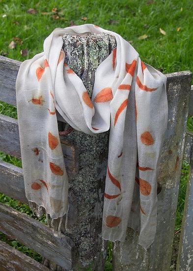 Merino gauze scarf