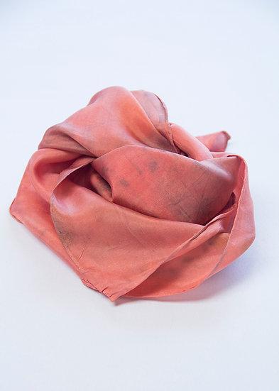 Coral neck square, bandana