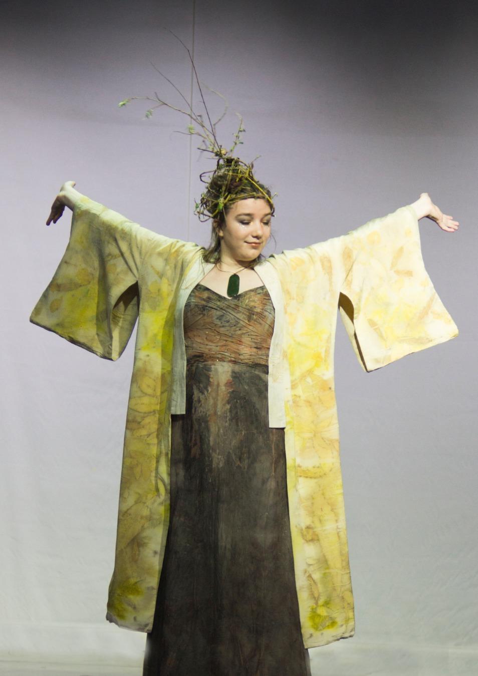 Grace in Kimono