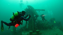 Plonger en Manche sur epaves
