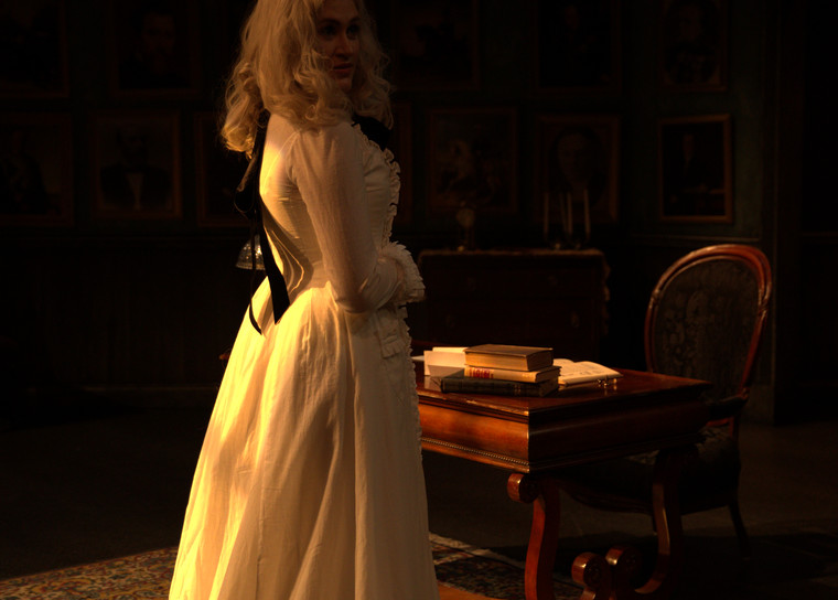 Production Stills of Rosmersholm for Theorhetical Production