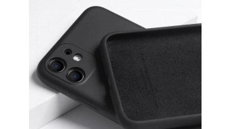 Schwarze Hülle iPhone 12 Handy