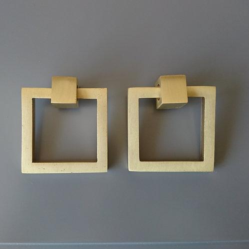 art. 127 - 50x50 mm Матовая латунь