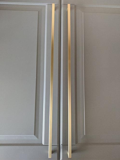 art. 159 скоба  500 mm матовая латунь