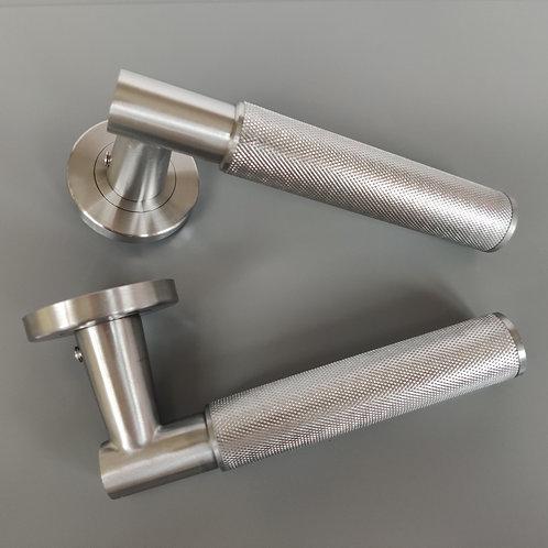 art. 002 door - satin stainless steel