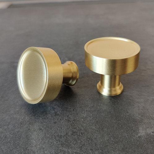 art. 171 knob 32 mm матовая латунь