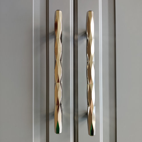 art. 148 скоба 222 мм блестящий никель
