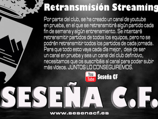Nuevo Canal YouTube Seseña C.F