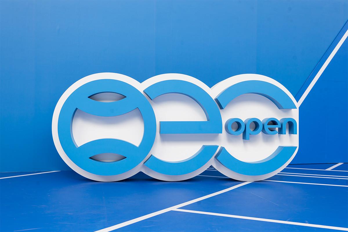 OEC標誌造景
