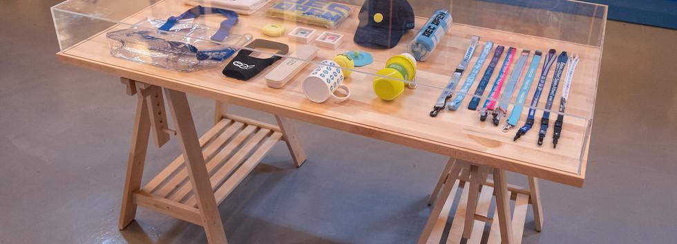歷屆製作物展桌