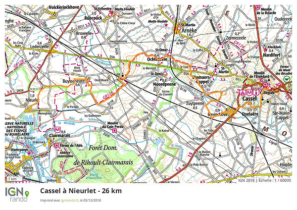 Variante_2_-_Cassel_+á_Nieurlet_26_km-pa