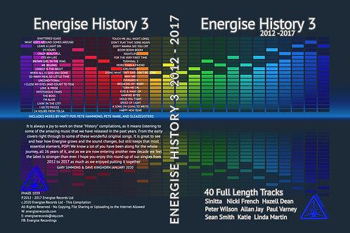 Energise History 3  (4 Disc Boxed Set)