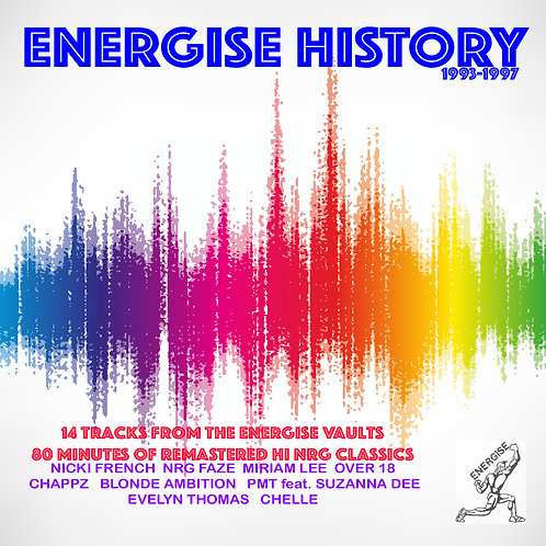 Energise History1993-96 2 Disc set