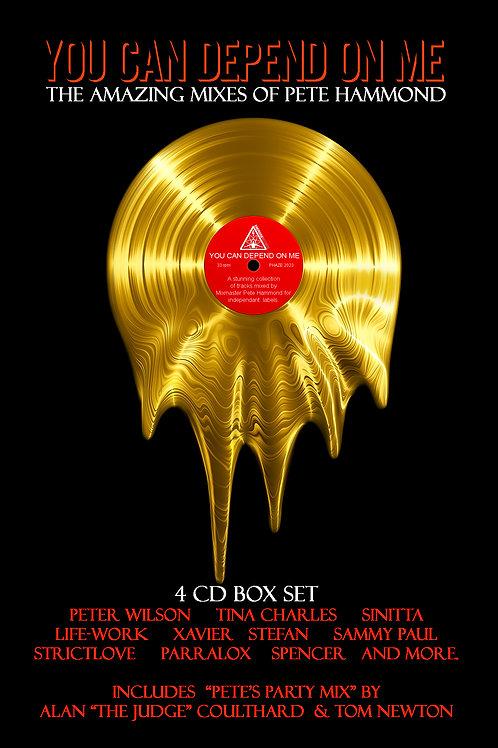 The Pete Hammond 4CD Box Set