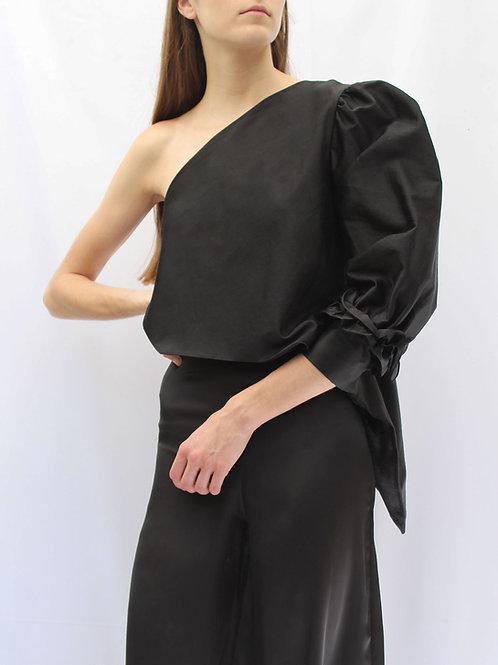 Blusa Thea noir