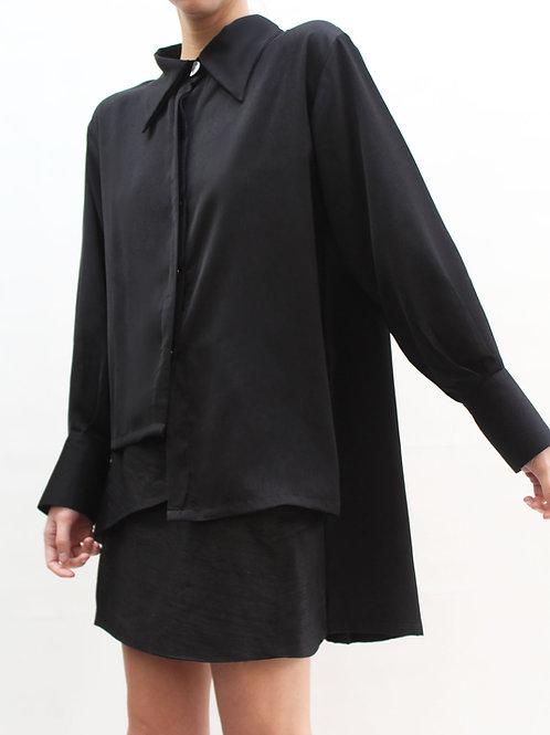 Blusa Nala Noir Irregular