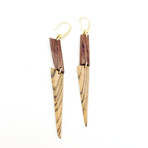 SinniS wood earrings