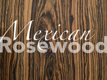 Mexican Rosewood 黃金檀