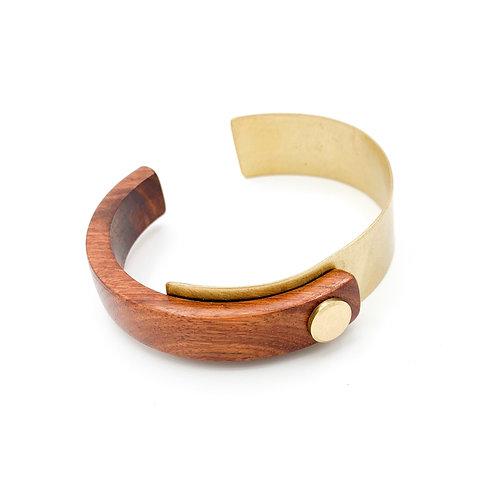 SinniS red wood bracelet