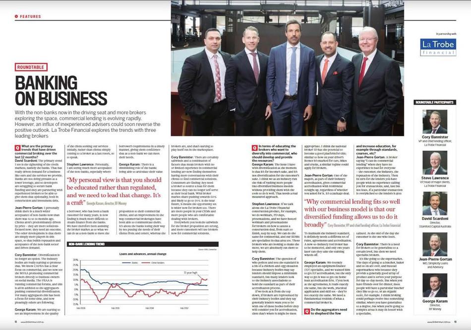 Banking on Business - Australian Broker