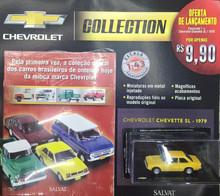 Coleção de Carrinhos Chevrolet