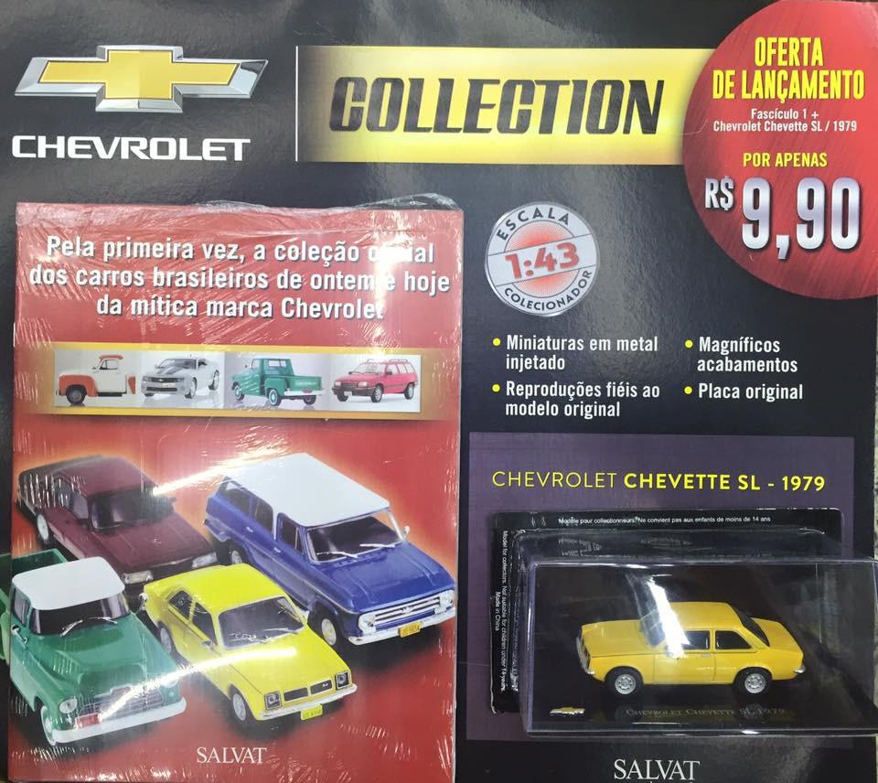 coleção de carrinhos - Chevrolet Collection