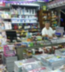banca de jornal e revistas nacionais e importados