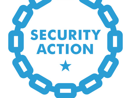 SECURITY ACTION(一つ星)を宣言しました。