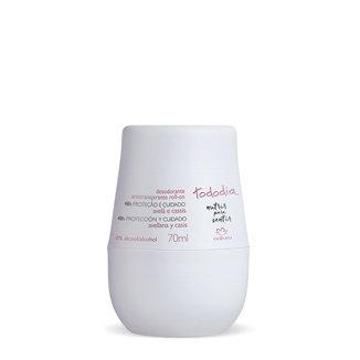 Tododia - Desodorante antitranspirante Roll-on - Avellana y Casis
