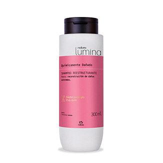 Lumina - Shampoo re estructurante - Cabello químicamente dañado