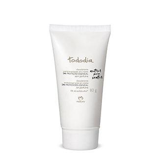 Tododia - Desodorante Antitranspirante en crema - Sin perfume