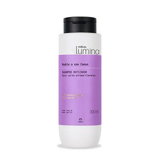 Lumina - Shampoo matizador - Cabello rubio o con canas