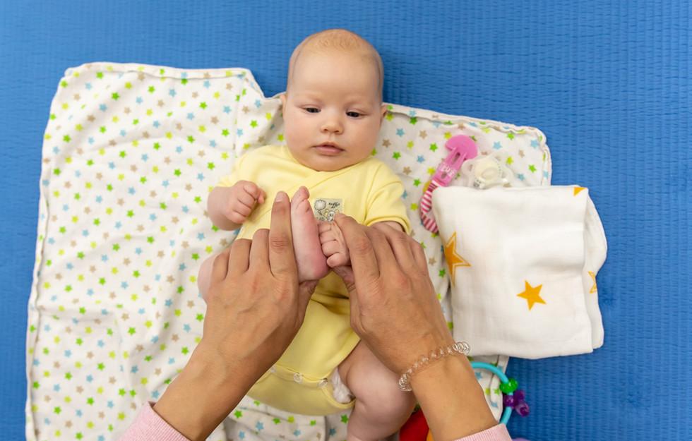 miganje za mamico in dojenčka